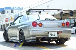 '10/08/10 CARSHOP F1 R34 GTR in Central Circuit