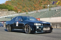 '10/12/01 CARSHOP F1 R34 GTR in Central Circuit